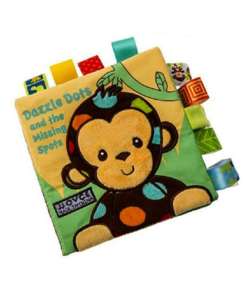 Dazzle Dots and the Missing Spots Cloth book CoverPage