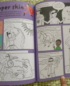 Factivity kids books - Journey around your body for kids
