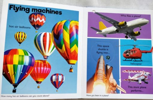 A Lift-A-Flap Book - Mighty Movers