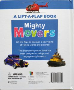 A Lift-A-Flap Book - Mighty Movers back