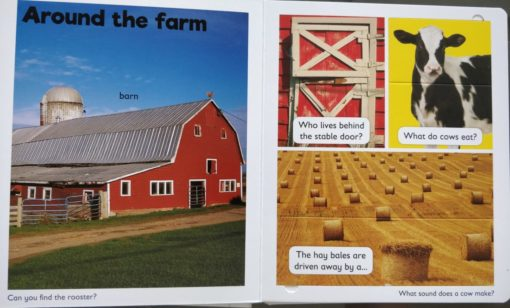 A Lift a Flap book On the Farm Inside1