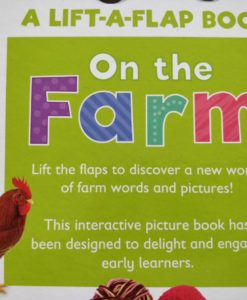 A Lift a Flap book On the Farm Back Cover