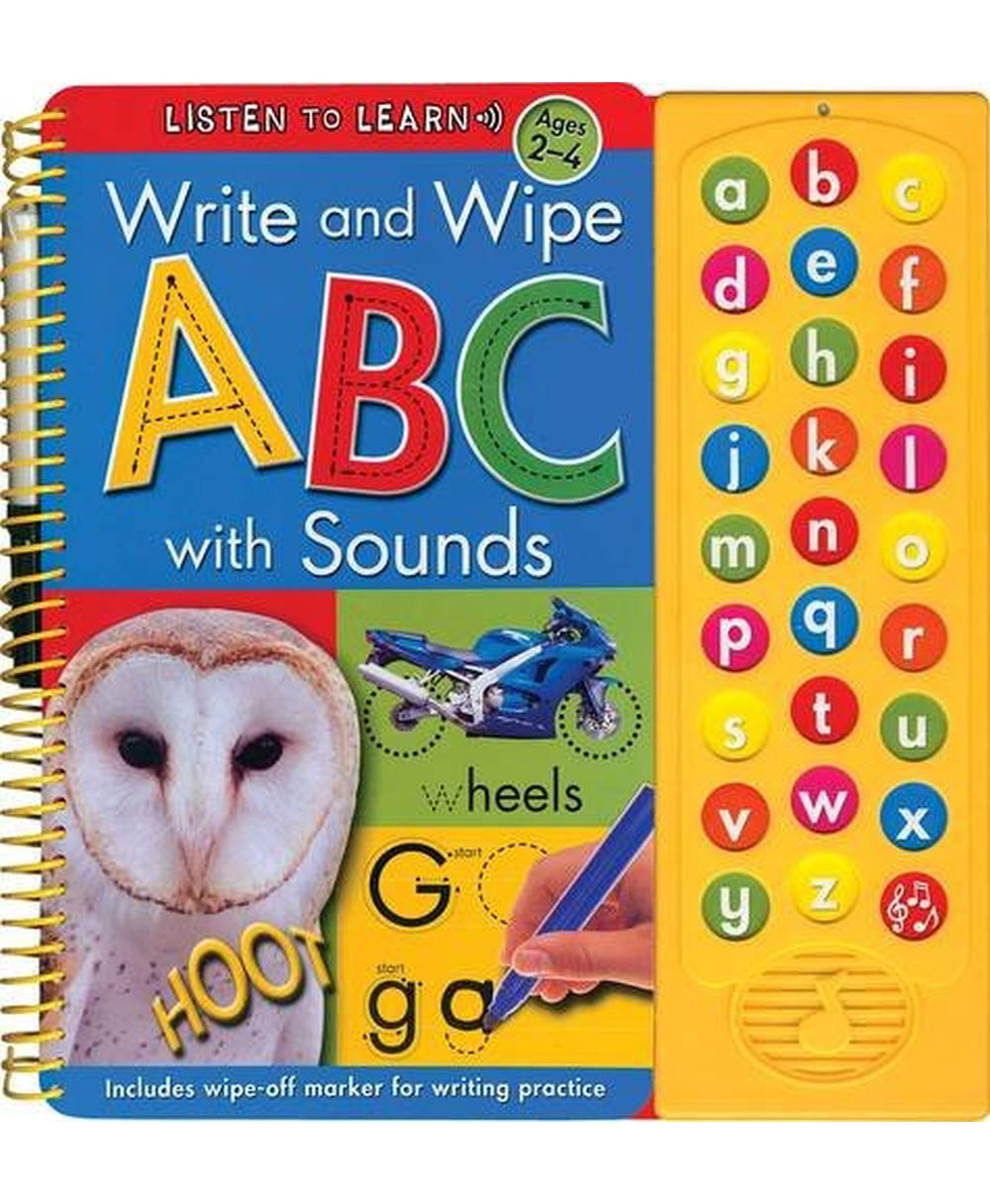 Listen and Learn, Write and Wipe – ABC with Sounds