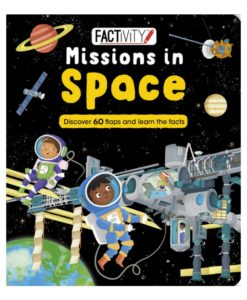 Factivity Lift the Flap Missions in Space Cover Page