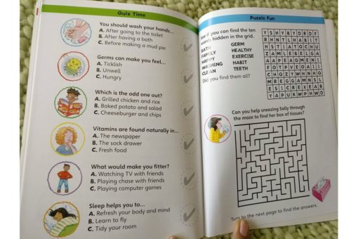 Healthy habits book for children