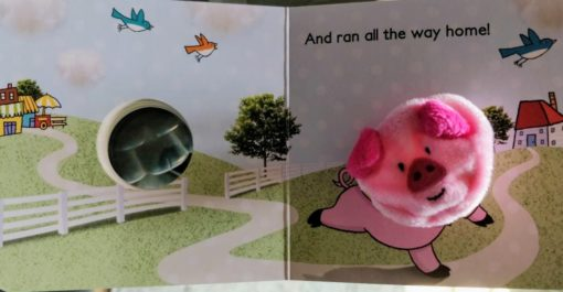 Little Learners This Little Piggy Finger Puppet Book 2
