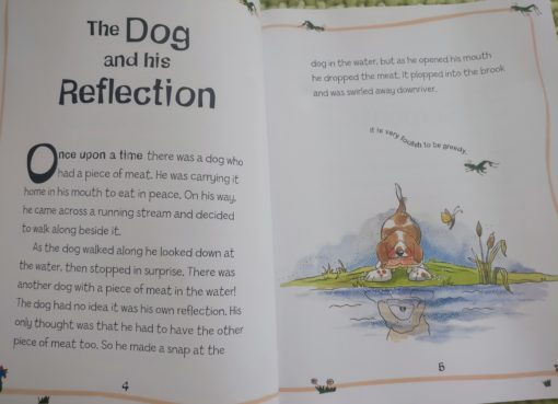 Aesop's Fables - The Boy Who Cried Wolf And Other Aesop's Fables - The Dog and his Reflection Story