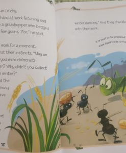 Aesop's Fables - The Boy Who Cried Wolf And Other Aesop's Fables - Ant and the Grasshopper story