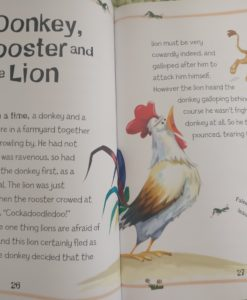 Aesop's Fables - The Boy Who Cried Wolf And Other Aesop's Fables - Donkey, Rooster and Lion Story