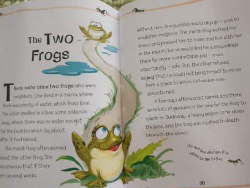Aesop's Fables - The Boy Who Cried Wolf And Other Aesop's Fables - The Two Frogs Story