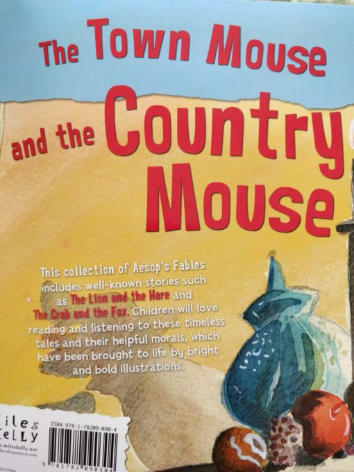 Aesop's Fables - The Town Mouse and The Country Mouse and Other Aesop's Fables Back Cover