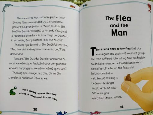 Aesop's Fables - The Wolf And His Shadow And Other Aesop's Fables - The Flea and the Man Story