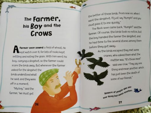 Aesop's Fables - The Wolf And His Shadow And Other Aesop's Fables - The Farmer, his Boy and the Crows Story