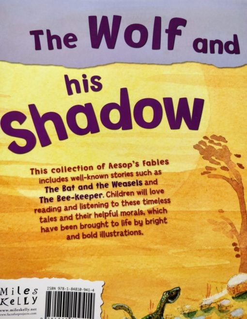 Aesop's Fables - The Wolf And His Shadow And Other Aesop's Fables - Back Cover Page