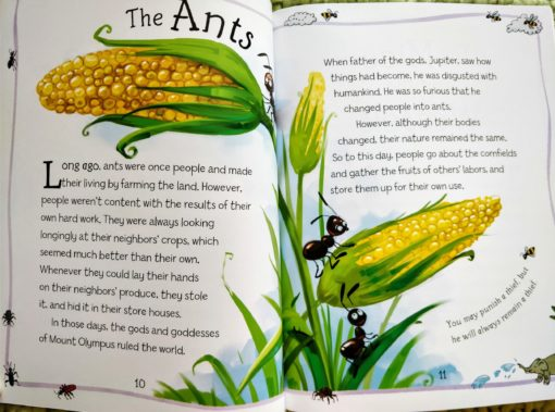 Aesop's Fables - The Mice And The Weasels And Other Aesop's Fables - The Ants Story