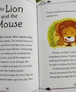 Aesop's Fables - The Mice And The Weasels And Other Aesop's Fables - The Lion and the Mouse Story