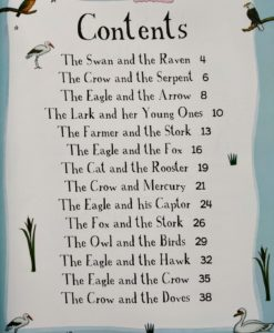 Aesop's Fables - The Fox And The Stork And Other Aesop's Fables - Contents