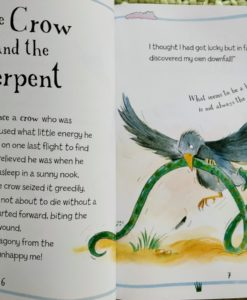 Aesop's Fables - The Fox And The Stork And Other Aesop's Fables - The Crow and the Serpent