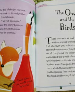 Aesop's Fables - The Fox And The Stork And Other Aesop's Fables - The Owl and the Birds