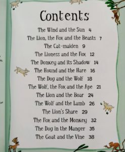 Aesop's Fables - The Dog in the Manger And Other Aesop's Fables - Index Page