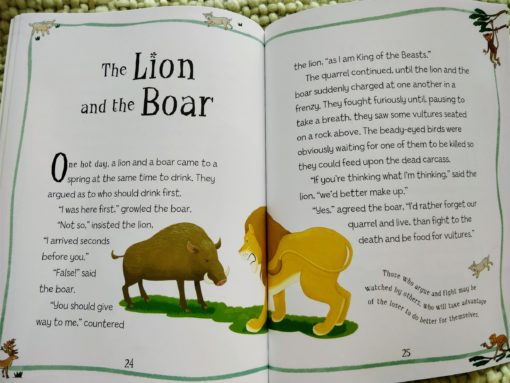 Aesop's Fables - The Dog in the Manger And Other Aesop's Fables - The Lion and the Boar