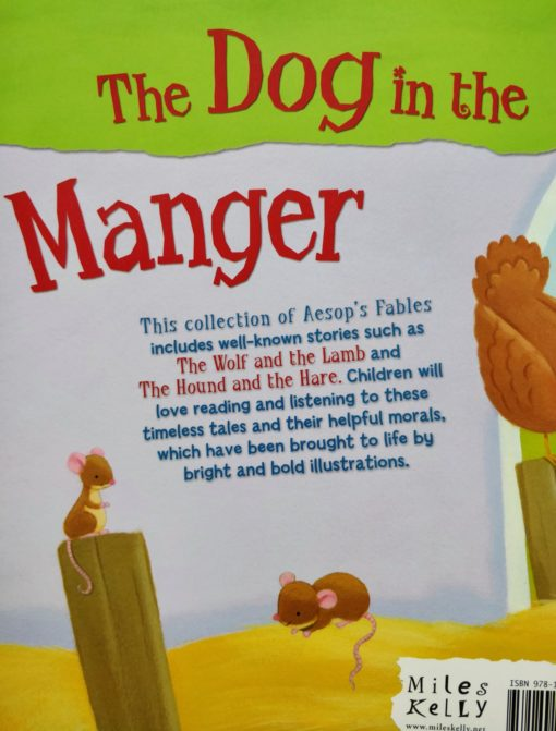 Aesop's Fables - The Dog in the Manger And Other Aesop's Fables - Back Cover