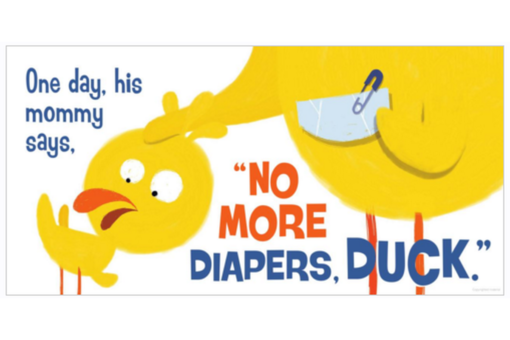 Duck Goes Potty inside 1