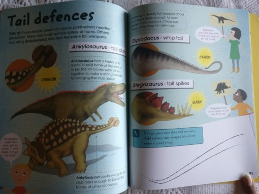 Factivity Dinosaurs Inside page 7