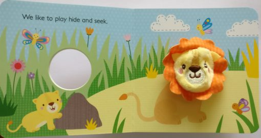 Daddy and Me Finger Puppet Book inside1