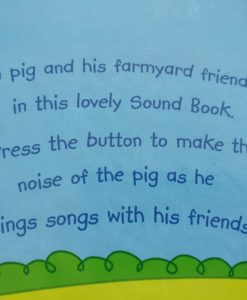Farmyard Animal Sounds Oink! Oink! Sound Book Last Page