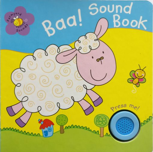 Farmyard Animal Sounds Baa! Sound Book cover