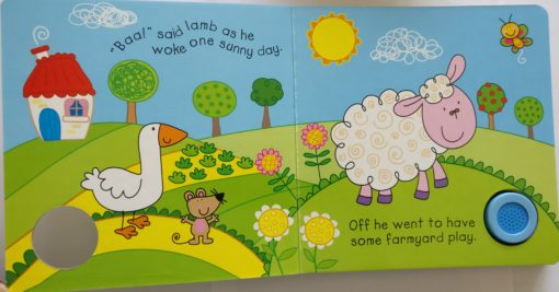 Farmyard Animal Sounds Baa! Sound Book Inside1
