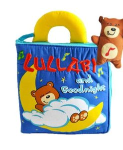 Lullaby and Goodnight Quiet Book Busy Book Cloth book for infants to toddlers