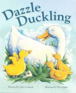 Dazzle Duckling Story Book
