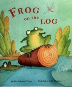 Cupcake Board Book - Frog On The Log