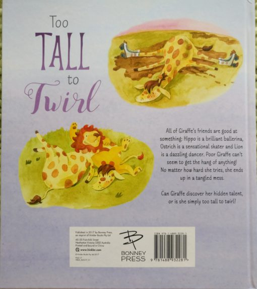 Too Tall to Twirl Back Cover