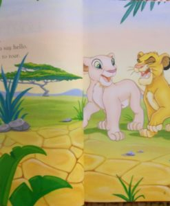 My first easy to read stories - Simba and Nala2