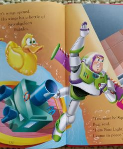 My first easy to read stories - Toy Story Buzz Lightyear Bubble Planet