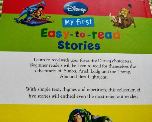 My first easy to read stories - back cover