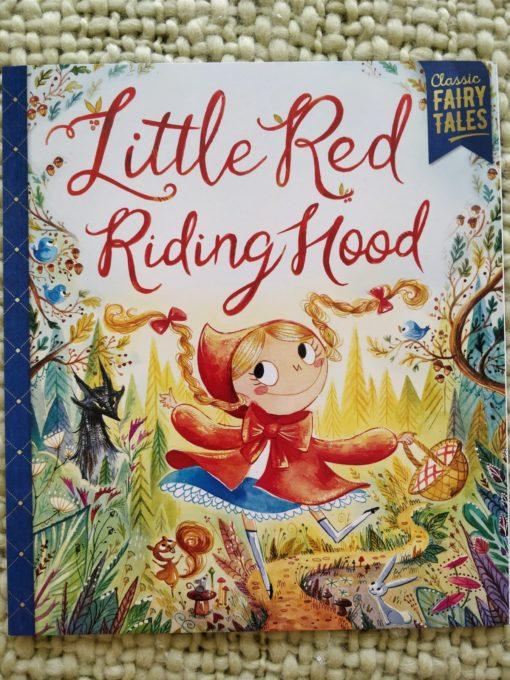 Classic Fairy Tales – Little Red Riding Hood - Cover2Classic Fairy Tales – Little Red Riding Hood - Cover2