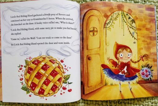 Classic Fairy Tales – Little Red Riding Hood - Cover2Classic Fairy Tales – Little Red Riding Hood - Inside1