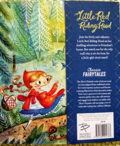 Classic Fairy Tales – Little Red Riding Hood - Cover2Classic Fairy Tales – Little Red Riding Hood - BackCover2