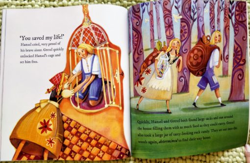 Classic Fairy Tales - Hansel and Gretel - Inside1