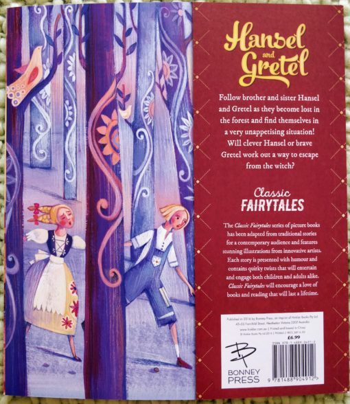 Classic Fairy Tales - Hansel and Gretel - BackCover