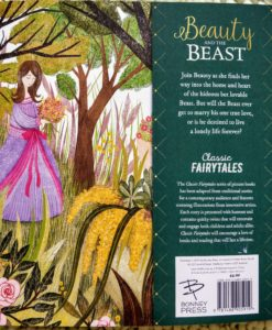 Classic Fairy Tales - Beauty and the Beast - BackCover