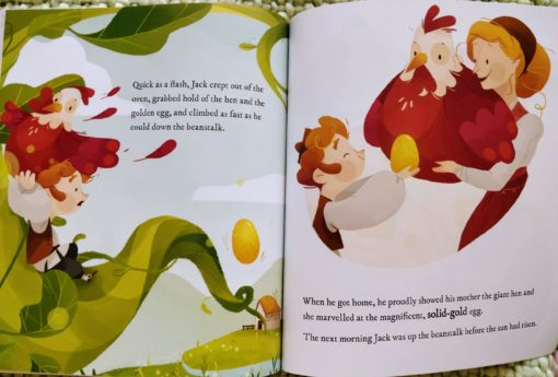 Classic Fairy Tales - Jack and the Beanstalk - Inside2