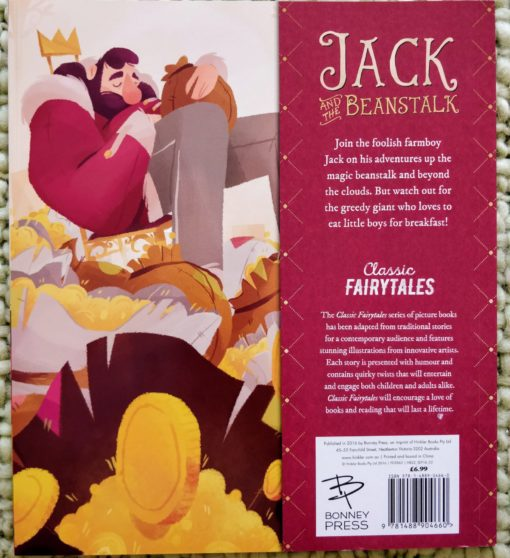 Classic Fairy Tales - Jack and the Beanstalk - BackCover