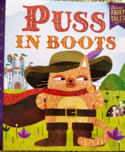 Classic Fairy Tales - Puss in Boots - Cover