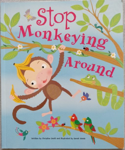 Cupcake Story Book – Stop Monkeying Around - Cover