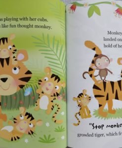 Cupcake Story Book – Stop Monkeying Around - Inside2